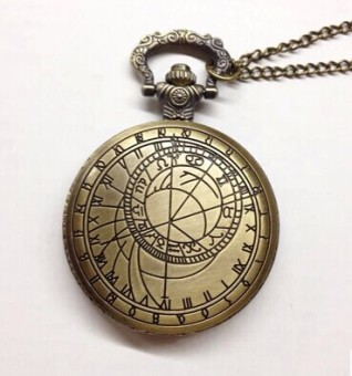 Korean-style large compass pocket watch
