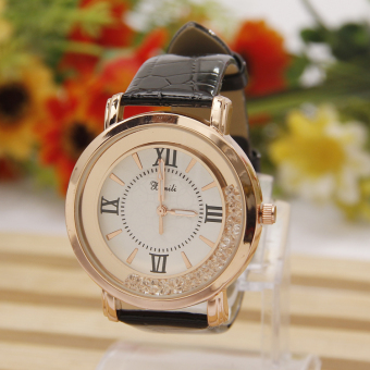 Korean-style student female waterproof leather belt quartz watch women's watch