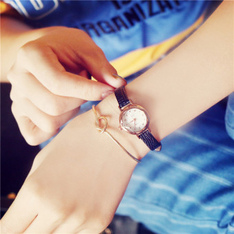 Korean-style student girl's quartz watch bracelet watch