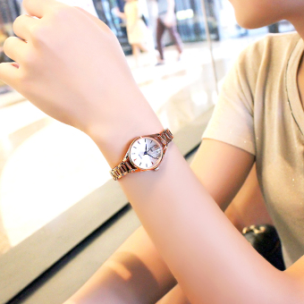 Korean-style women's student bracelet watch