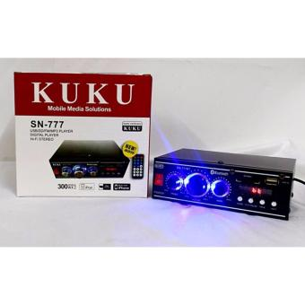 KUKU SN-777 2 Channel HI-FI Stereo Audio Power Amplifier WITHBLUETOOTH