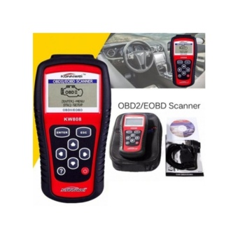 KW808 Professional Car Diagnostic Tool Engine Auto Code Reader Scanner Tool for Cars (Red and Black) - intl - 3
