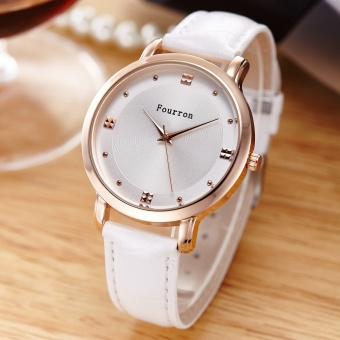 Ladies Fashion Dress Watches Women Casual Leather Quartz Wrist Watch For Women Clock Female 2017 Hot - intl