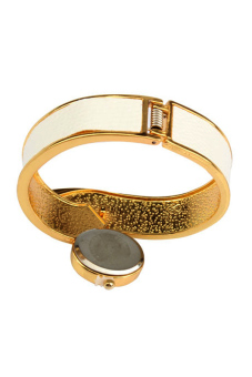 LADY Fashionable Style Bangle Watch White - picture 2