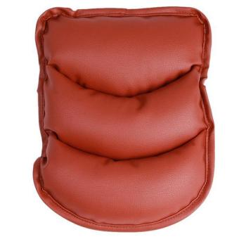 LALANG Car Vehicle Armrest Pad Cushion Cover Brown - picture 2