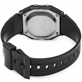 Landfox F-91W Women's (BLACK) Stainless Steel Strap Watch #29331with free Finger Ring Mobile Phone Smartphone Holder Stand foriPhone (Color May Vary) #26579 - 5