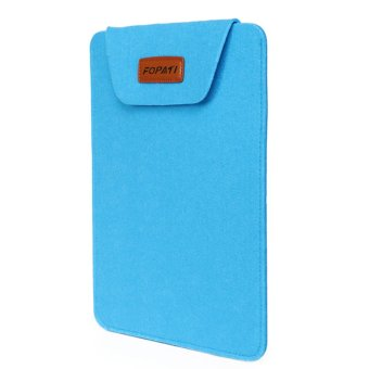 Laptop Ultra-thin Protective Felt Envelope Sleeve Case Pouch Bagfor Apple MacBook Air 14 inch Universal 14 inch Laptop Blue