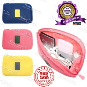 Large Size Innovative Travel Gadget Organizer Pouch (Yellow) Price Philippines