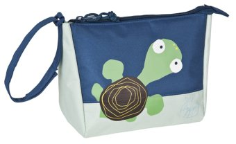 Lassig Wildlife Turtle Wash Bag (Ivory/Blue) - picture 2