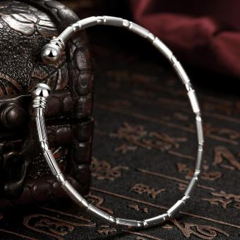 Latest Trendy Classic Silver Plating Bangle Price (Intl) - picture 2