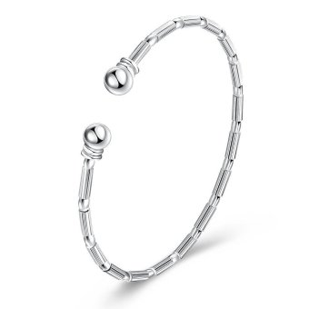 Latest Trendy Classic Silver Plating Bangle Price (Intl)