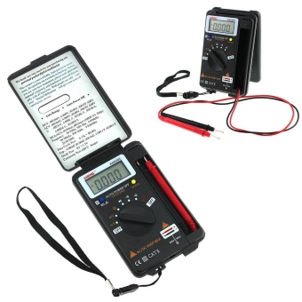 LCD Mini Auto Range AC/DC Pocket Digital Multimeter VoltmeterTester Tool - intl