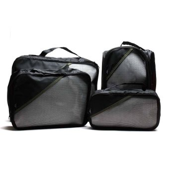 Le Organize 4-in-1 Luggage Organizer (Black)