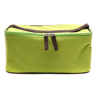 Le Organize All Purpose Carrying Case (Neon Green/Brown)