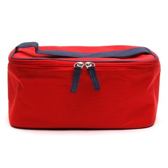 Le Organize All Purpose Carrying Case (Red/Dark Blue)