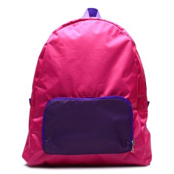 Le Organize Jammies Foldable Backpack (Pink/Purple)