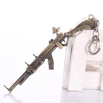 League of legends LOL Musket/Assault Rifle Keychain Souvenir Gift Keyring Fashion Pendant Accessories - intl - 2