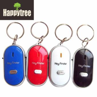 LED Anti-Lost Key Finder Locator Lost Key Chains Whistle SoundControl - 5