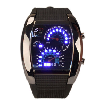 LED Backlight Military Digital Quartz Wrist Watch