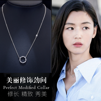 Legend s925 blue sea celebrity inspired pendant sterling silver necklace