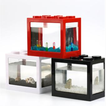 Lego Fish Tank for Small Fishes (Red)