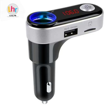 LHR BC09B Handsfree 5V/2.1A USB Car Charger Bluetooth Car Kit FM Transmitter