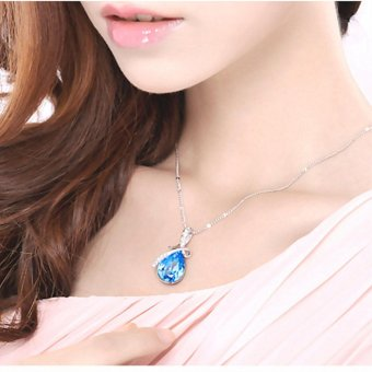 LIFEART Lady's Senior Crystal Diamond JewelrySets(earrings&necklace&rings) - intl - 2