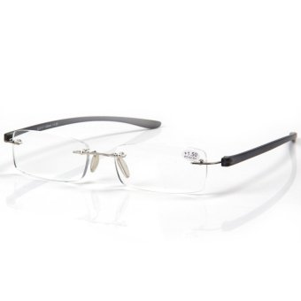Lightweight Anti-Fatigue Computer Reading Glasses +1.5 (gray)