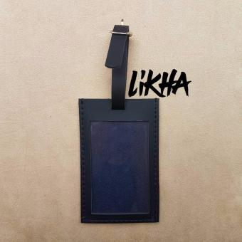 Likha Josh Plain Luggage Tag (Black)