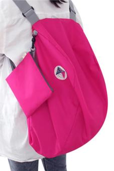 Linemart Travel Cosmetic Bag Portable Folding Backpack - Intl