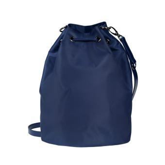LIPAULT LADY PLUME BUCKET BAG M NAVY - 2