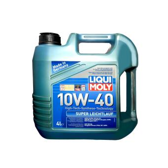 Liqui Moly Super Leichtlauf SL/CF 10W40 Synthetic Technology Engine Oil (4 Liters)