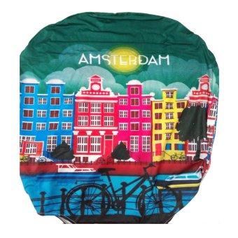 LITTLE CHILI KINGDOM Amsterdam Luggage Protector - MEDIUM