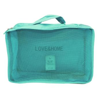 LOVE&HOME 6 in 1 Secret Pouch Travel Organizer Set(SkyBlue,Red) Set Of 2 - 5