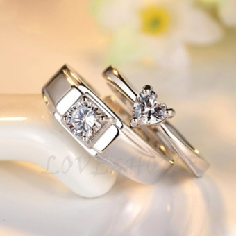 LOVE&HOME Fashion Adjustable Lover's Ring JZ-04