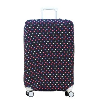 Lovely Travel Luggage Suitcase Protective Cover -For 22-26 inchSuitcase (Intl)