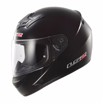 LS2 Full Face FF352 Rookie Mono Helmet (Matte Black)