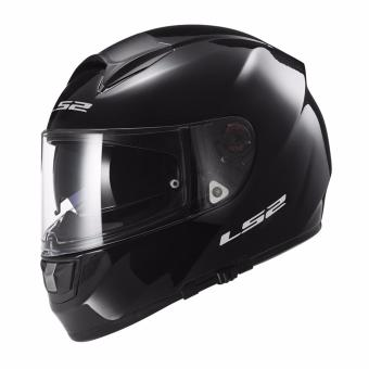 LS2 Full Face FF397 Evo Vector Mono Helmet (Gloss Black)