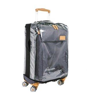 Luggage Cover Clear Plastic Medium