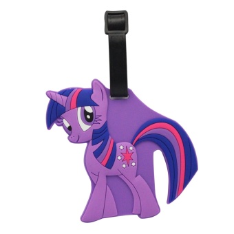 Luggage Tag (Little Pony - Violet)