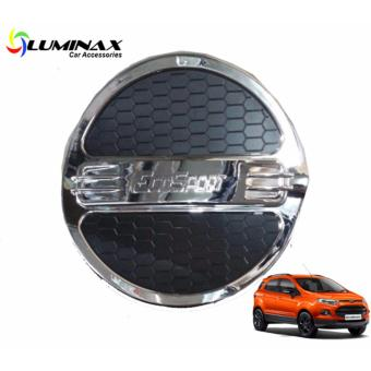 Luminax Ford EcoSport Two-toned Gas Tank Cover For Car Gas TankCover