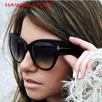 Luxury Brand Designer Women Sunglasses Oversize Acetate Cat eye Sun glasses Sexy Shades ss649 - intl