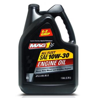 MAG 1 10W30 All Fleet API CJ-4/SN Engine Oil for Gasoline and Diesel Engines (Heavy Duty) 1gal (3.785L) PN#62924