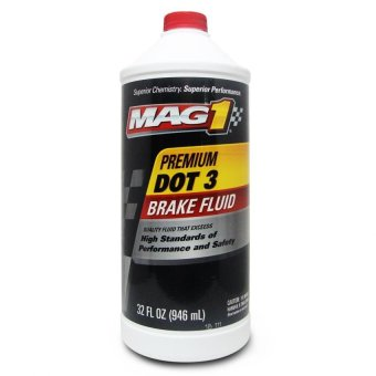 MAG 1 DOT-3 Premium Brake Fluid 1qt (946ml) PN#120