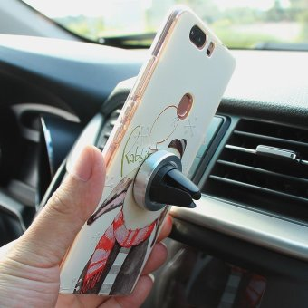 Magnetic Magnet Disc In Car Mobile Phone Holder Air Vent Mount Kit- intl