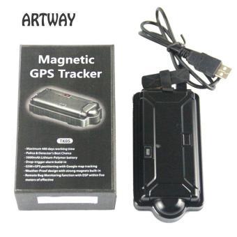 Magnetic Portable IPX7 waterproof 3G GPS tracker TK05GSE VehicleHuman Asset Tracking Anti Theft Vehicle GPS Tracker - intl