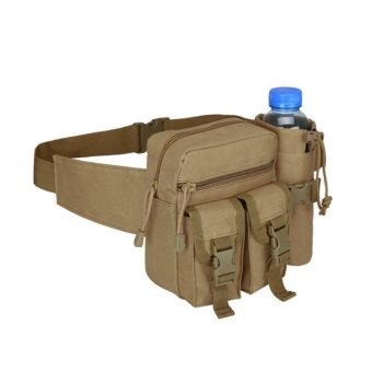 Makiyo Unisex Military Travel Hiking Water Bottle Tactical Waist Bag - intl Price Philippines