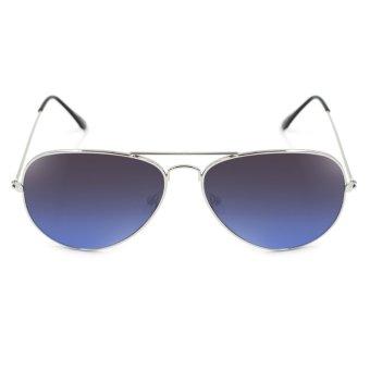 Maldives 000-Y Harper Sunglasses (Gradient Black Blue/Silver)