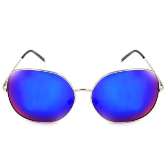Maldives 1542-Y Tracie Sunglasses (Multicolor Blue/ silver)