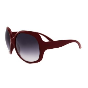 Maldives 7161-Y Ruffa Women's Summer Sunglasses (Gradient Black/Garnet) - picture 2